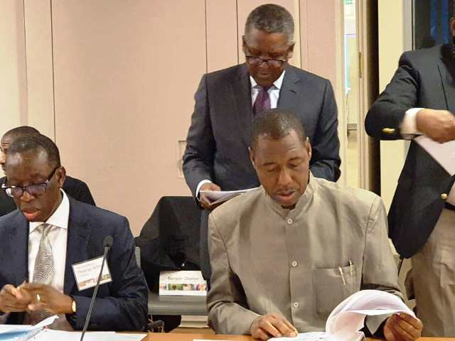 Photo Report: Borno State Governor Speaking At Bill And Melinda Gates Foundation headquarters In Seattle, USA - The Nigerian Voice