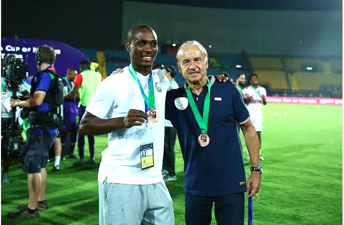 Gernot Rohr - Dessers, Osimhen Have Taken The Place Of Ighalo