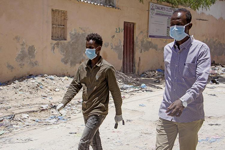 Somali journalist Abdiaziz Ahmed Gurbiye arrested over COVID-19 Facebook posts