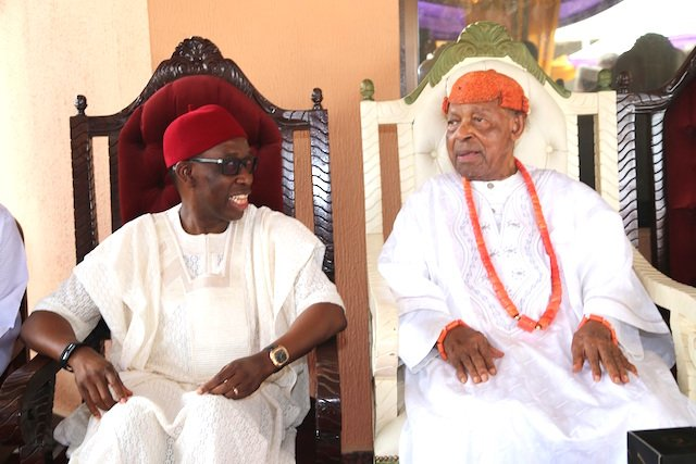 ASAGBA @ 95: Delta Governor Assures Of Developing State Capital (Celebration Photos) - The Nigerian Voice