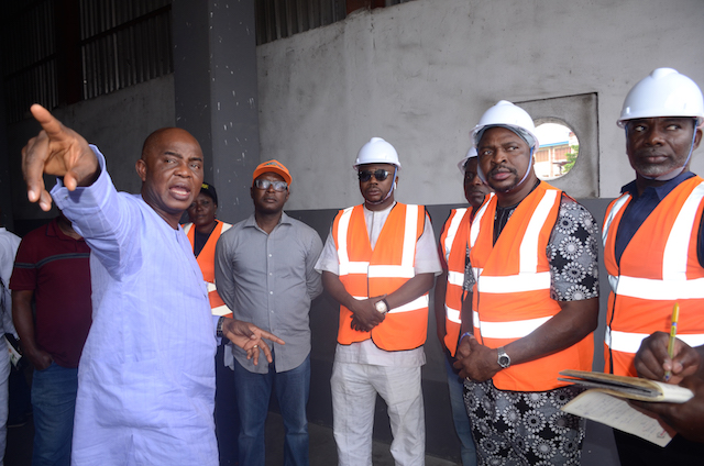 Photo Report: Lagos Waste Management Authority (LAWMA) Recent Facility Tour Of The Simpson Transfer Loading Station (TLS), Sura, Lagos Island - The Nigerian Voice