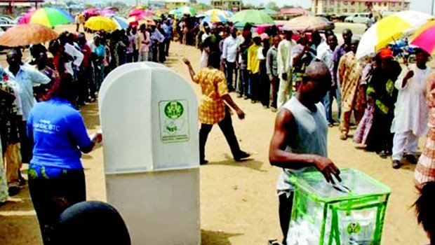 Image result for Polling centres in nigeria