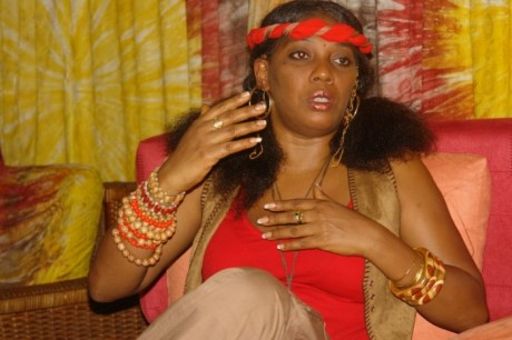 Yeni Kuti Reveals How Being Fela's Daughter Affected Her While Growing Up