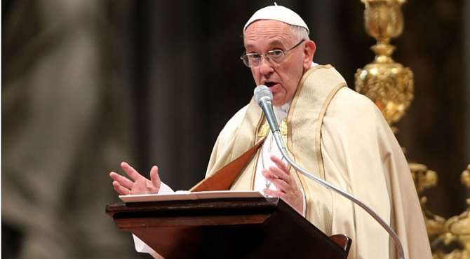 Image result for Pope commends Islamist terror as 'Homicidal Madness'