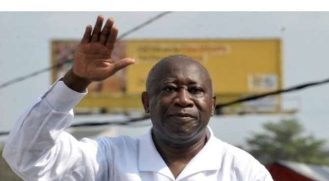 PHOTO: INCUMBENT PRESIDENT OF IVORY COAST, MR LAURENT GBAGBO.