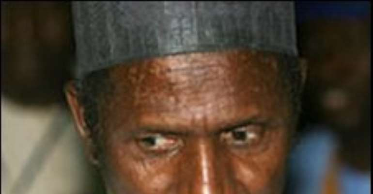 President Umaru Yar'Adua is being treated for a heart condition