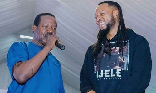 Juju Singer, King Sunny Ade, Spotted With Flavour N'abania
