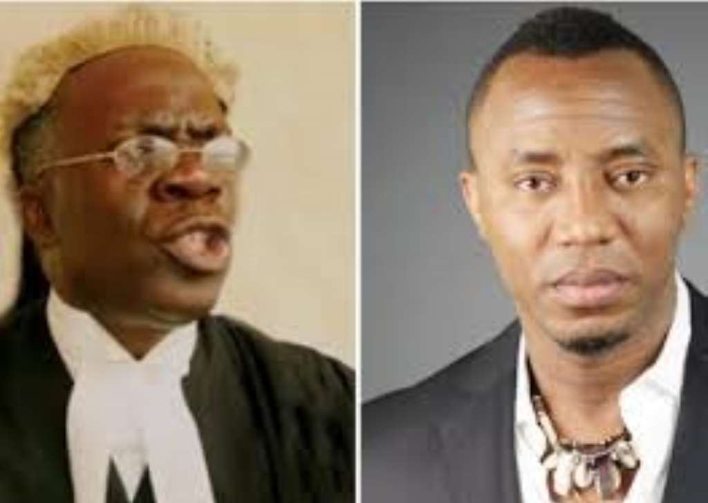 Image result for falana and sowore   ,      photos
