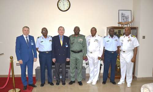 NIGERIAN ARMED FORCES TO STRENGTHEN MILITARY RELATIONSHIP