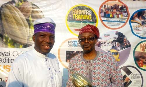 Aregbesola bags 1st Nigerian cocoa awards