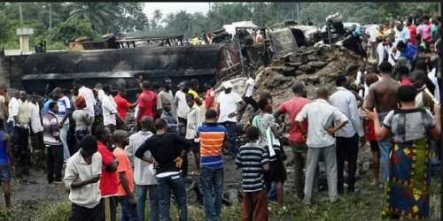 Image result for fuel tanker explosion in Cross River State