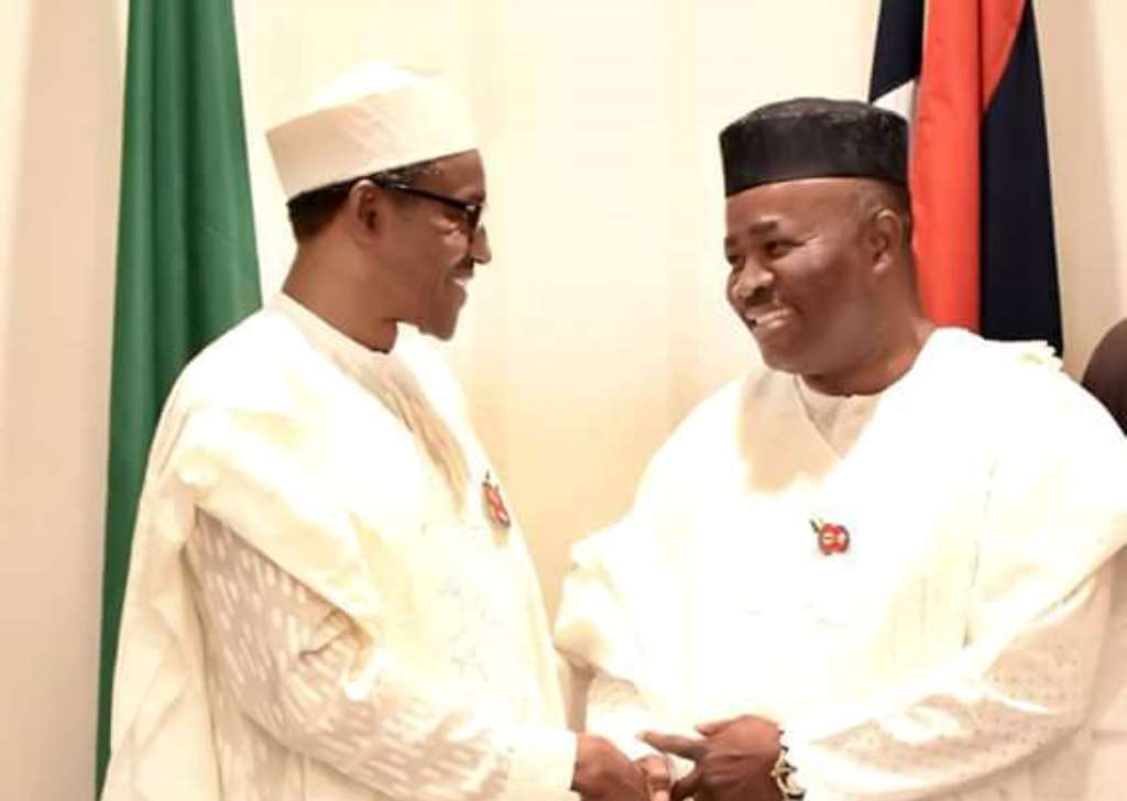 Image result for Akpabio Named Coordinator Of Buhari Presidential Support Committee