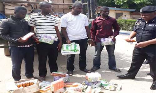 Image result for BUSTED!! Police Arrests Gang Of Fake Drug Manufacturers In Lagos