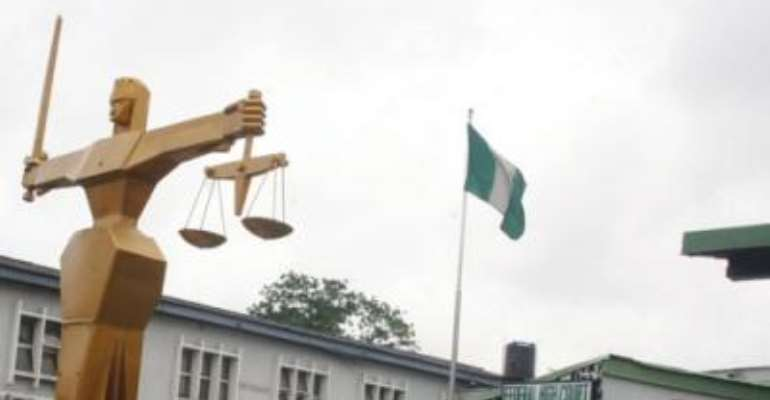 PHOTO: THE FEDERAL HIGH COURT, IKOYI, LAGOS.