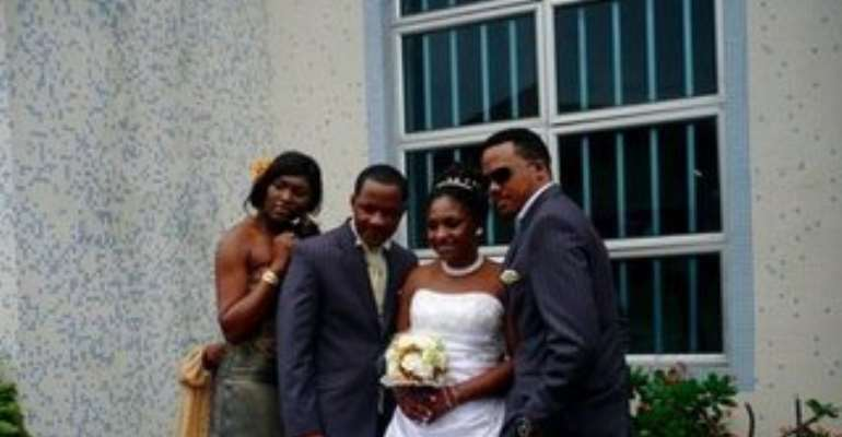 Kate Effiong and hubby