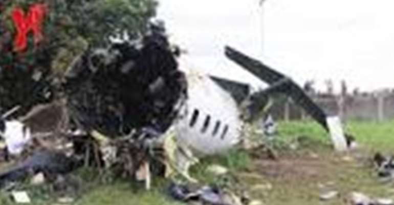 Debris from the Associated Airline Embraer 120 Aircraft