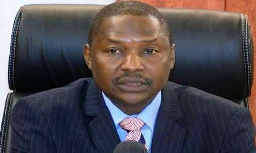 Image result for Minister of Justice and Attorney General of the Federation, Abubakar Malami