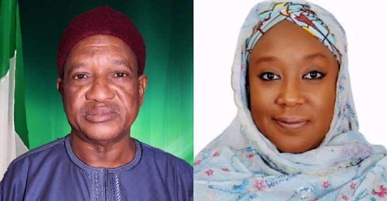 Senator Bukar and Hon Khadijah