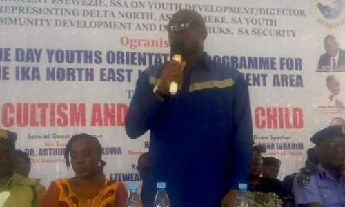 Keep Away From Drugs, Cultism, Okowa Charges Youths