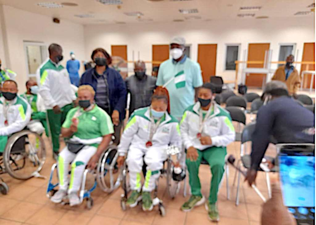 Minister assures Power Weightlifters of Support to Paralympics