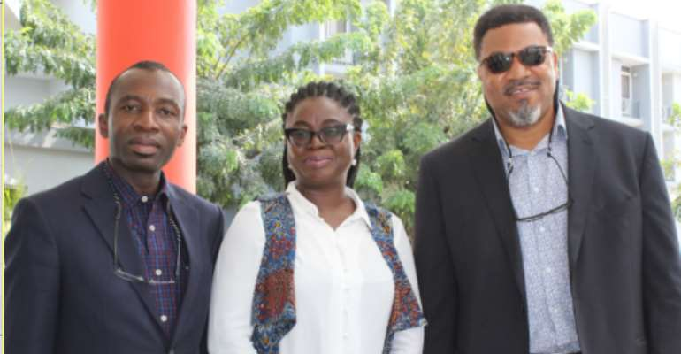 L-R:Chief Executive Officer (CEO) Red Star Express Plc, Sola Obabori; Technical Adviser to the Minister of Agriculture and Rural Development, Cynthia Umoru and Chief Executive Officer (CEO), Thelma Farms, Babatunde Ogunyemi during the Red Star Express Plc
