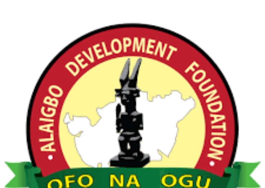 Alaigbo Development Foundation Reacts To Press statement