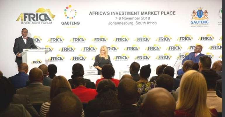 South Africa says country ready to host 2018 Africa Investment Forum