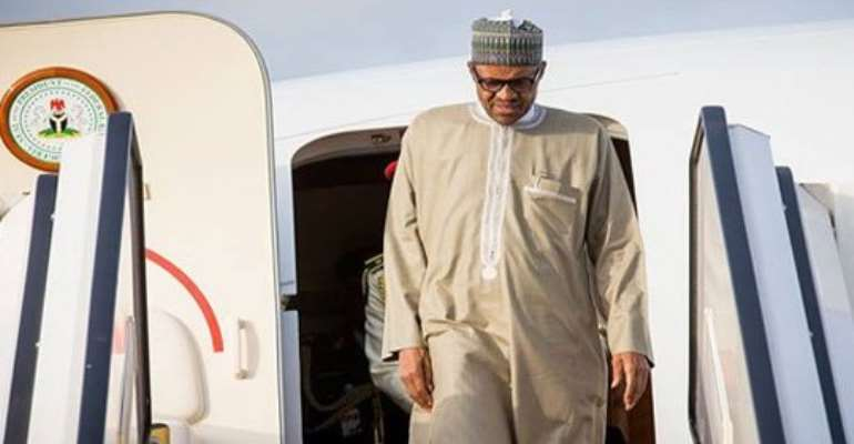 Nigeria's Buhari returns home after seeing doctor in Britain