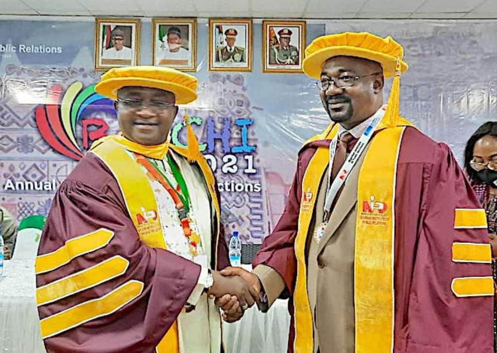 NNPC Spokesman, Obateru, Bags NIPR Fellowship (photos)
