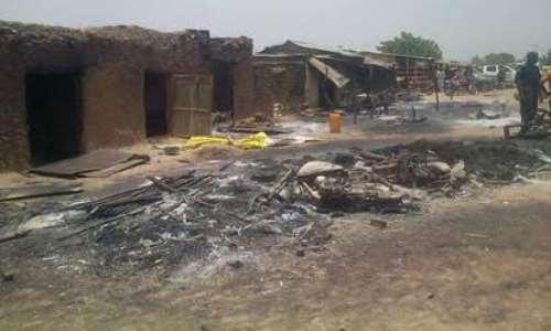 Image result for images of desoluted Katsina Villages