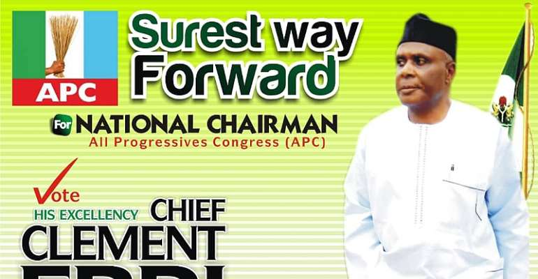 His Excellency, Chief Clement David Ebri,