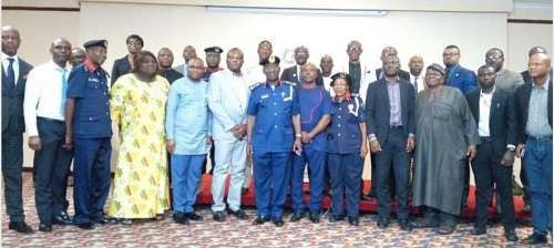 NSCDC Boss meets with CEOs Of Security Companies in Nigeria