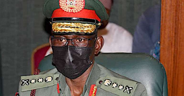 Gen. Lucky Irabor(Chief Of Defence Staff)