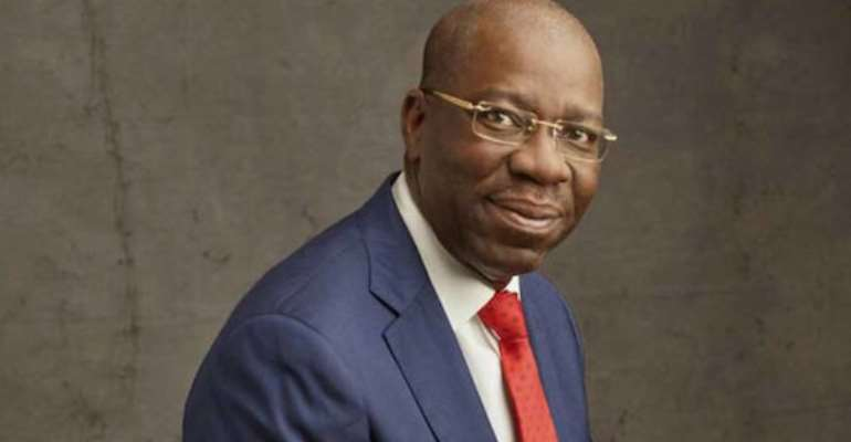 H E Godwin Obaseki, Governor of Edo