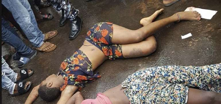 Women killed in Cameroon. Driver blames soldiers