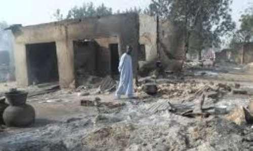 Image result for Residents of Gubio, Magumeri return home after Boko Haram attack