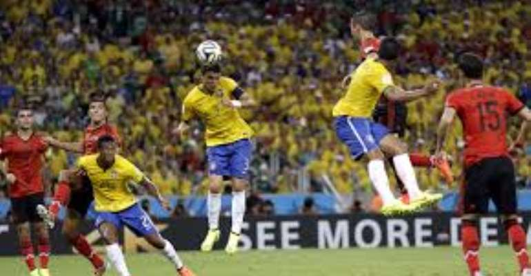 Mexico holds host Brazil to 0-0 draw at World Cup