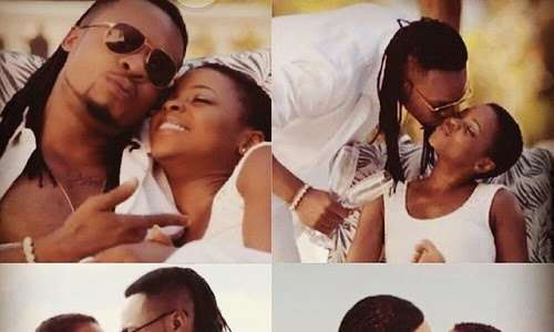 How Singer, Flavour Kissed 5 Women in Music Video