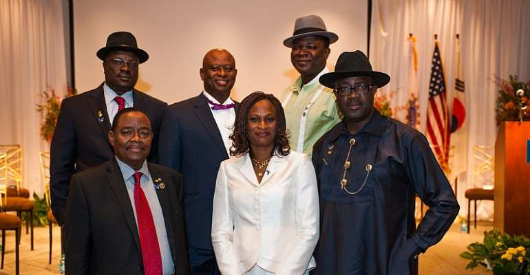 Rotary recognizes major donors from Nigeria
