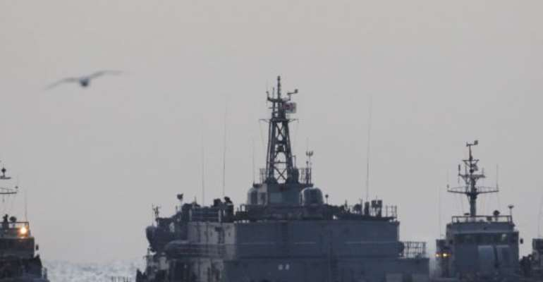 North, South Korea exchange military fire