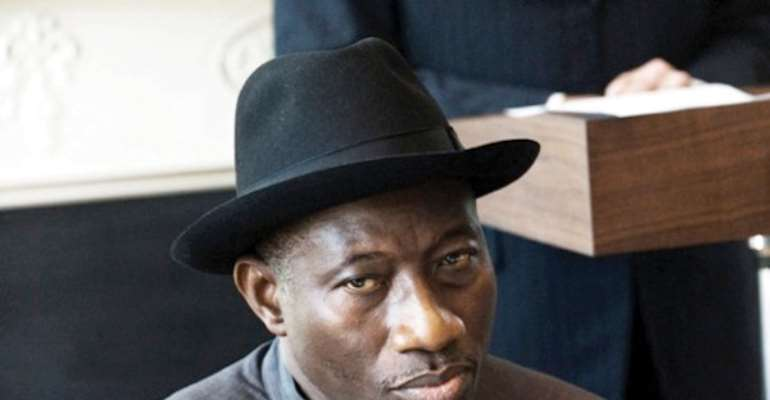 PHOTO: PRESIDENT GOODLUCK EBELE JONATHAN.