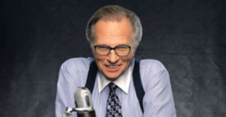 PHOTO: MR LARRY KING. Image: CNN.