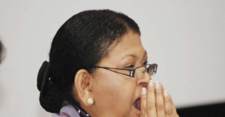 PHOTO: MRS CECILIA IBRU HAS PLEAD GUILTY TO CHARGES OF FRAUD AND MONEY LAUNDERING.
