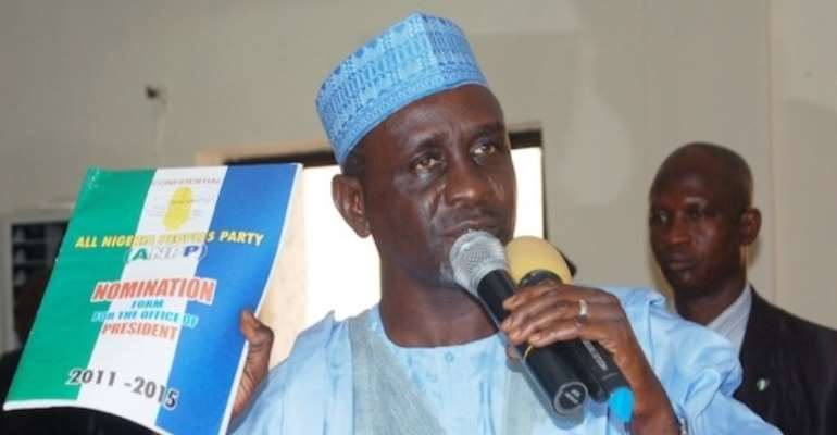FORMER KANO STATE GOVERNOR AND EX-PRESIDENTIAL CANDIDATE OF THE ANPP, MALLAM IBRAHIM SHEKARAU