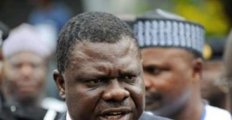 FORMER ATTORNEY GENERAL AND MINISTER OF JUSTICE, CONTROVERSIAL MICHAEL AONDOAKAA.