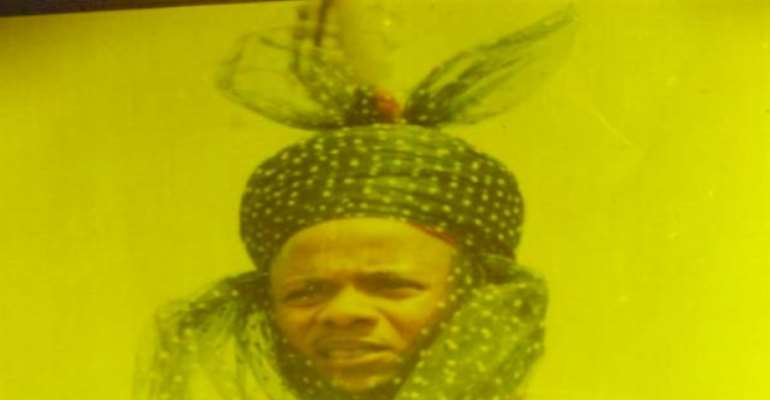 PHOTO: ELDEST SON OF THE LATE EMIR AND CANDIDATE FOR THE THRONE, ALHAJI SULEYMAN ADAMU SULEYMAN