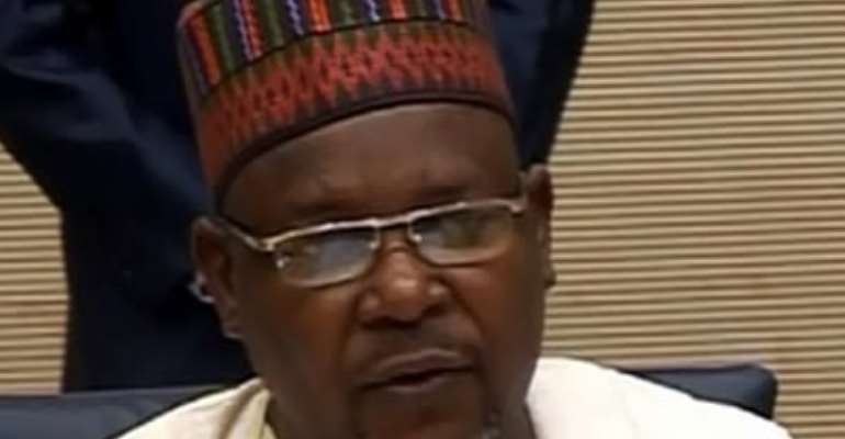 MINISTER OF STATE FOR FINANCE, DR. YERIMA NGAMA