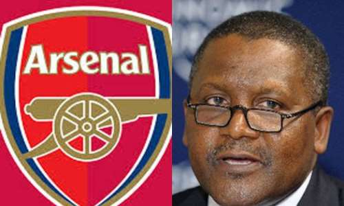 Once The Refinery is Working, I will Buy Arsenal FC   Dangote Reveals