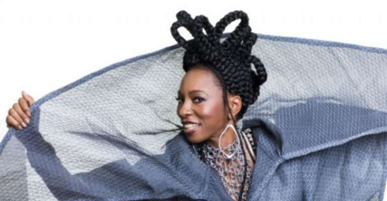 Wunmi was influenced by her uncle, Victor Olaiya, Fela and Roy Ayers. Photo: ALEXANDER