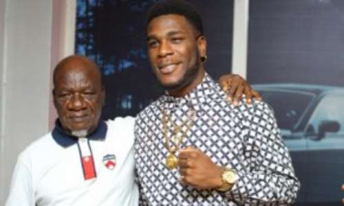 UNIPORT Honours Burna Boy's Grandfather